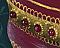 Victorian Ornament with Jewels Closeup