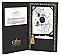 Silver Gilded Happy Anniversary 25 Presentation Box