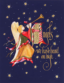 Angels We Have Heard Holiday Card Limited Edition