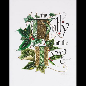 Holly and Ivy 23K Gilded Limited Edition