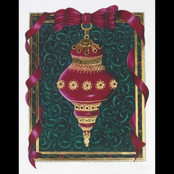 Victorian Ornament Adourned with Jewels Grand Couture
