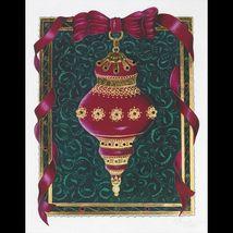 Victorian Ornament w/ Swarovski Crystals Limited Edition