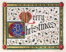Illuminated Merry Christmas  Limited Edition